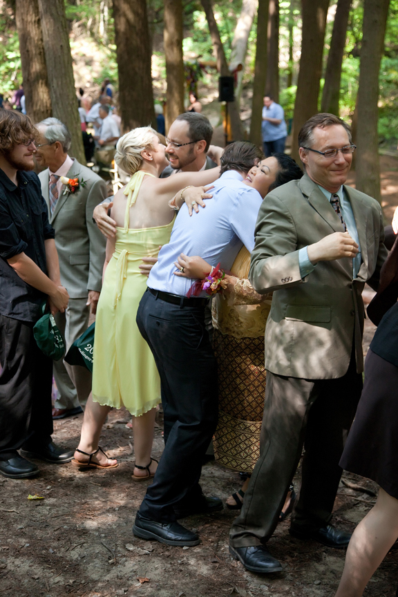 receiving line wedding ceremony