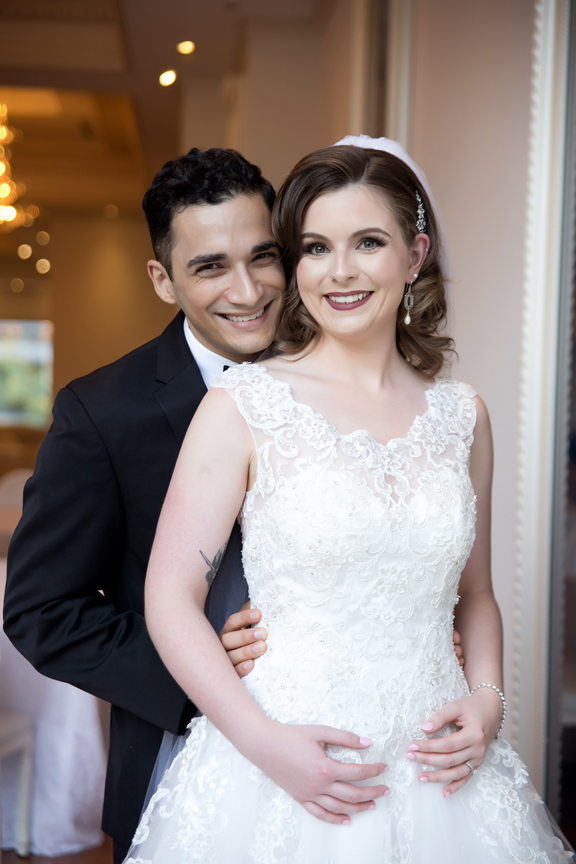 married couple at Rosewater Room