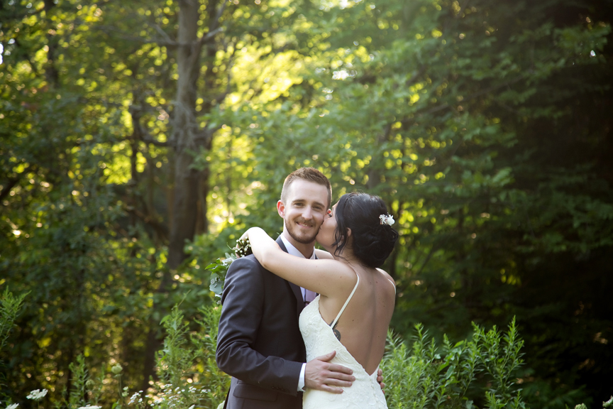 happy groom portrait at Trillium Trails Banquet Centre