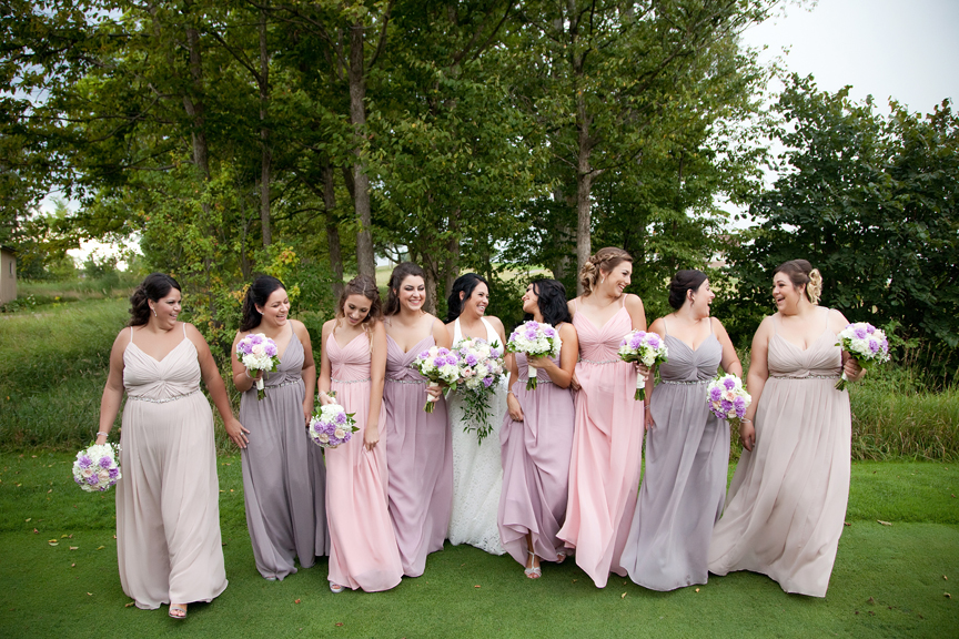 bridesmaids at Tangle Creek Golf and Country Club