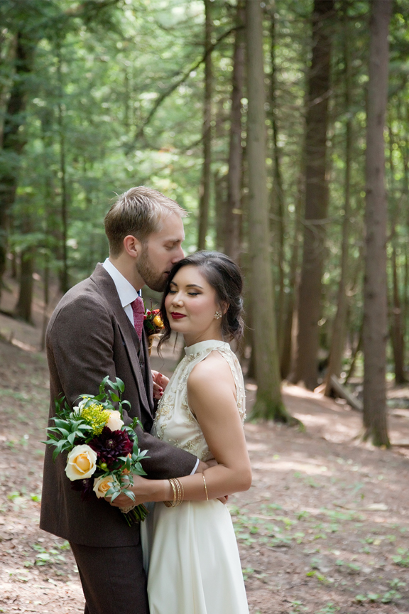 married couple at Ganaraska Forest Centre