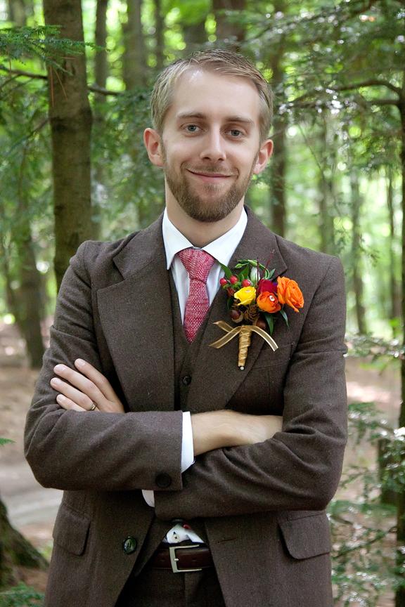 groom portrait at Ganaraska Forest Centre