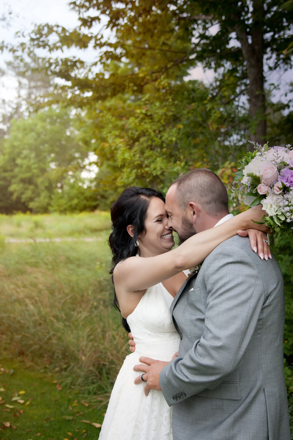 happy bride at Tangle Creek Golf and Country Club