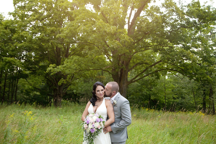 bride and groom at Tangle Creek Golf and Country Club