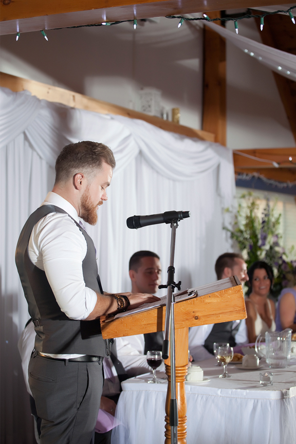 best man speech wedding reception