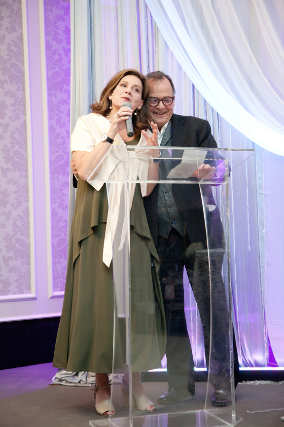 parent's speech wedding reception at Crystal Fountain