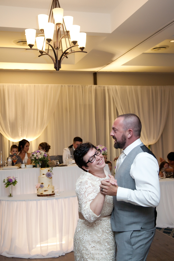 mother son dance wedding reception at Tangle Creek Golf and Country Club