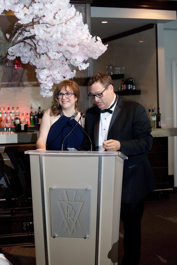 groom's parent speech Wedding reception at Palais Royale