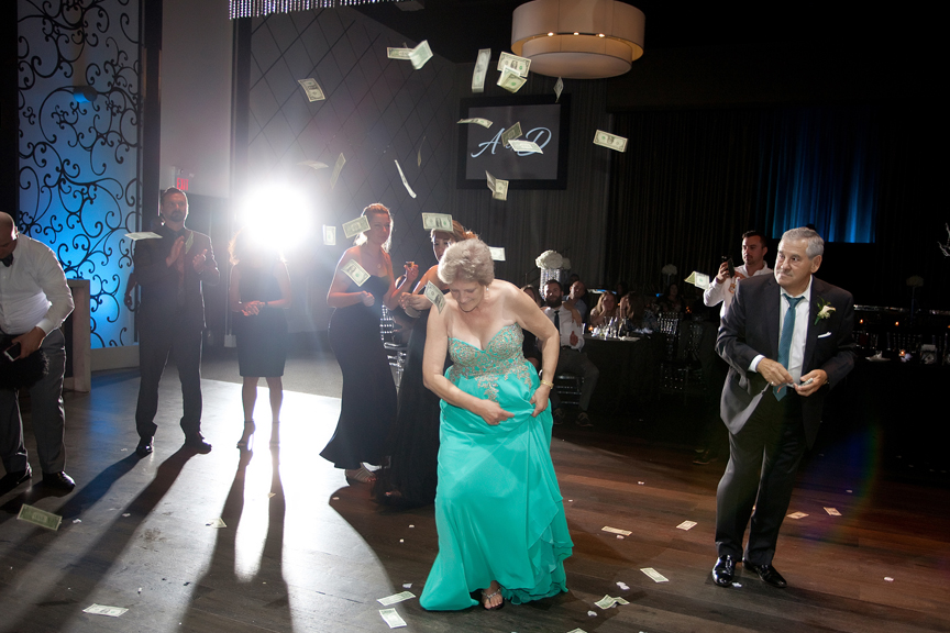 bother dancing Greek and Albanian wedding reception at Grand Luxe Event Boutique