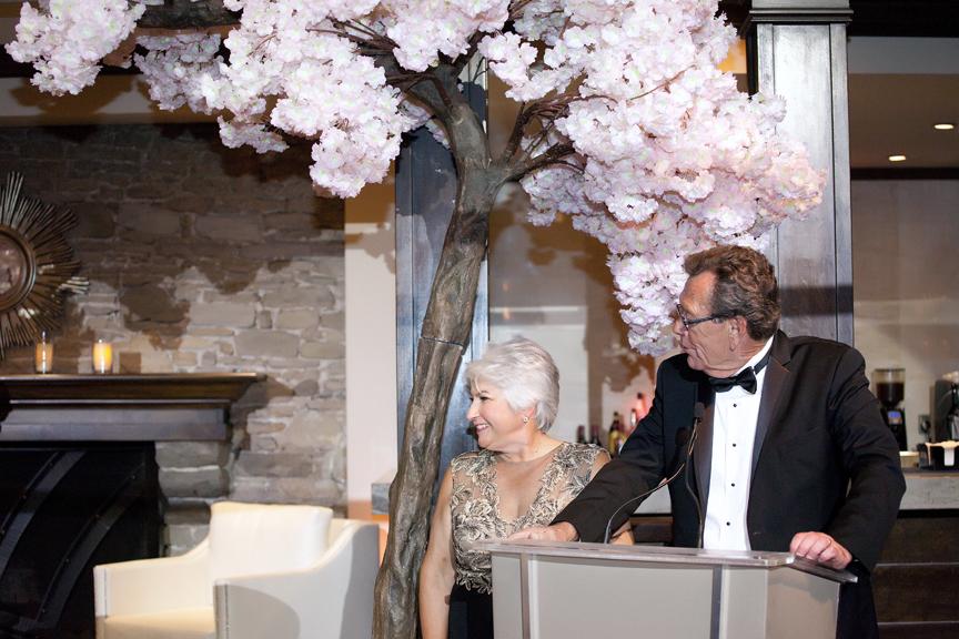 parent speech Wedding reception at Palais Royale