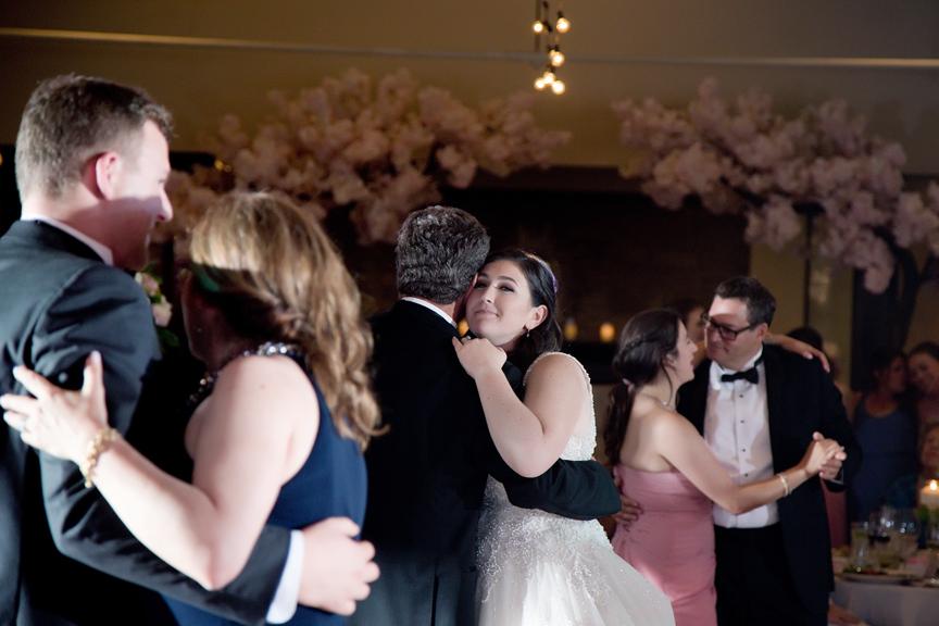 father daughter dance Wedding reception at Palais Royale
