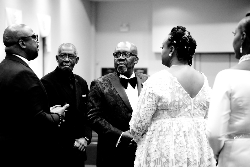groom wedding ceremony at Praise Cathedral Worship Centre