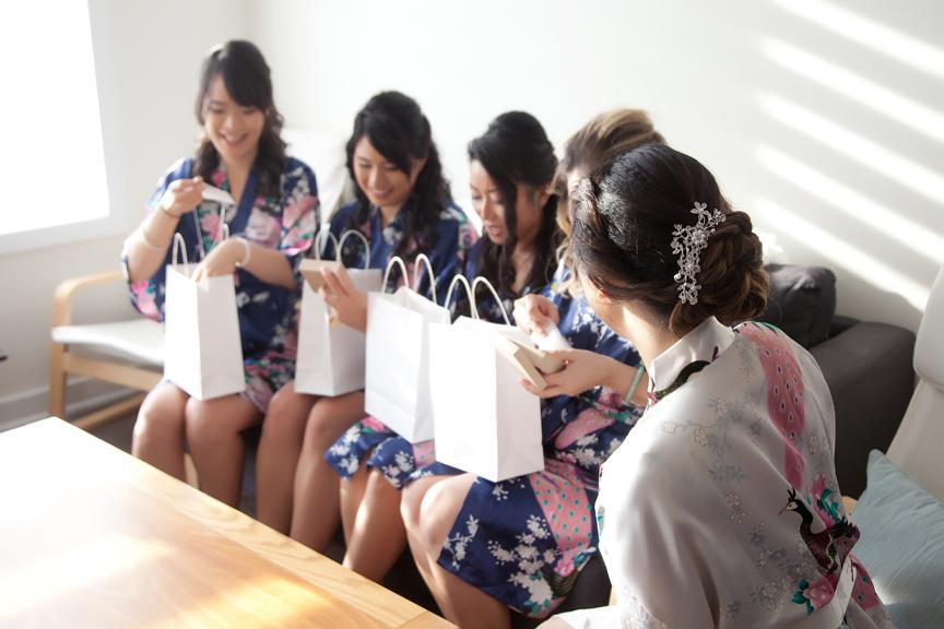 bride prep bridesmaids gift