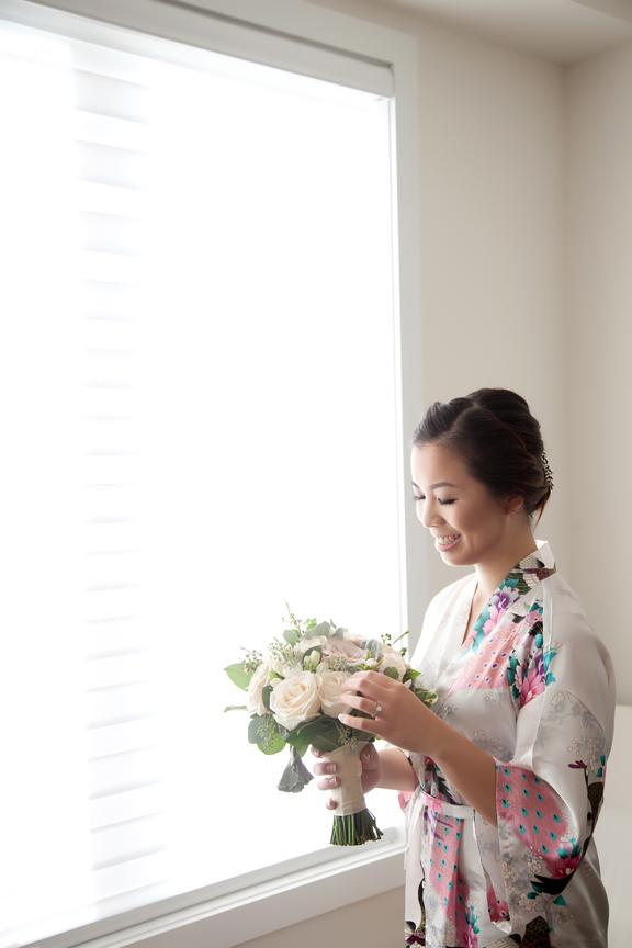 bride prep robes