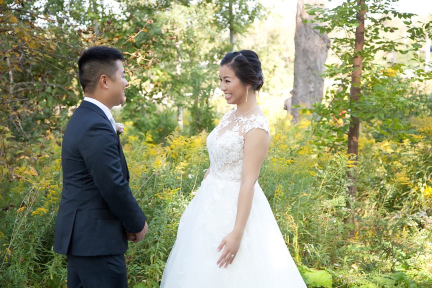 couple's first look at Ascott Parc.