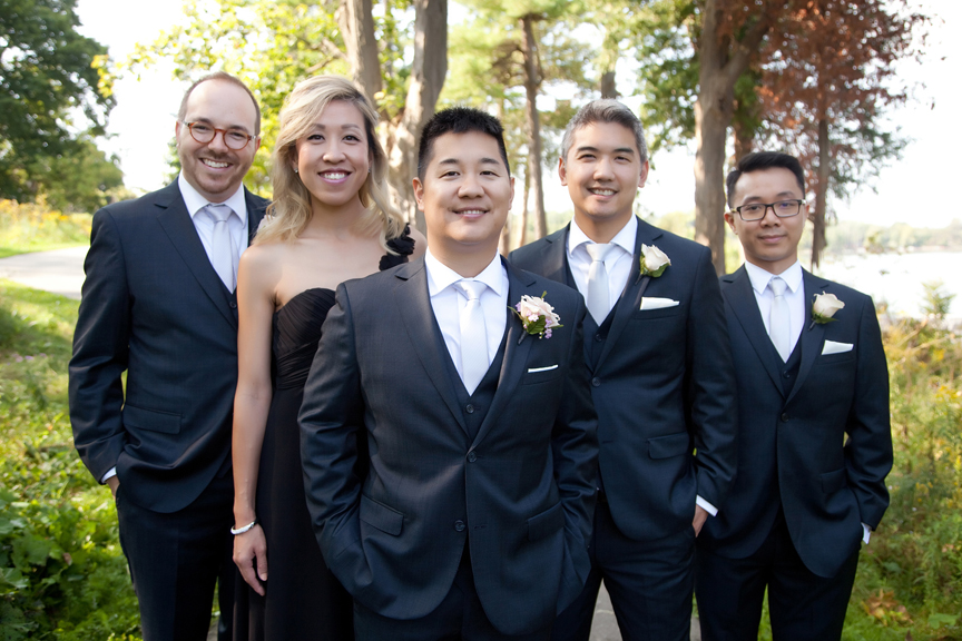 groomsmen Ascott Parc.