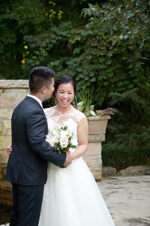 wedding couple Chinese wedding at Ascott Parc