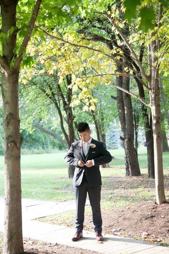 groom portrait at Ascott Parc