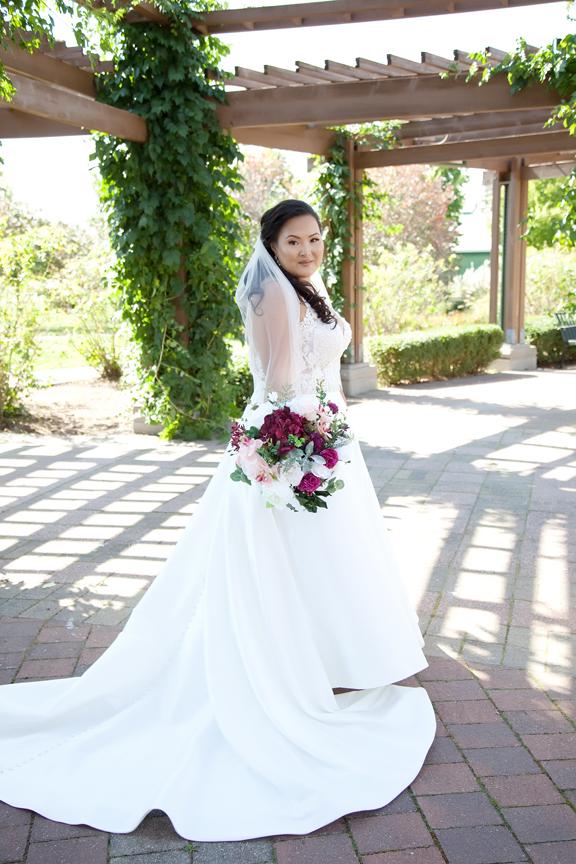 bride wedding portrait at Richmond Green