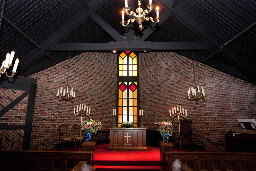 chapel wedding ceremony at Old Mill Toronto