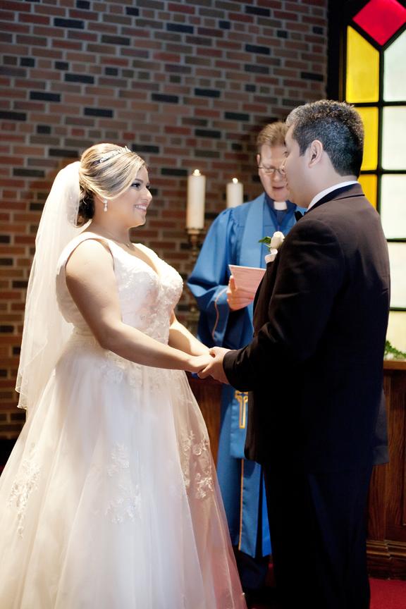 wedding ceremony at Old Mill Toronto