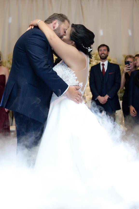 first dance wedding reception at Venetian Banquet Hall