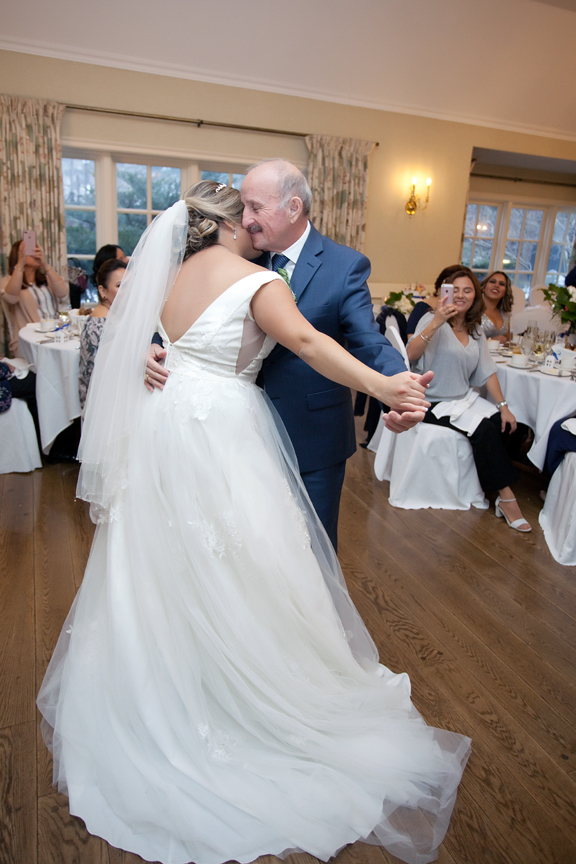father daughter dance wedding reception at Old Mill Toronto