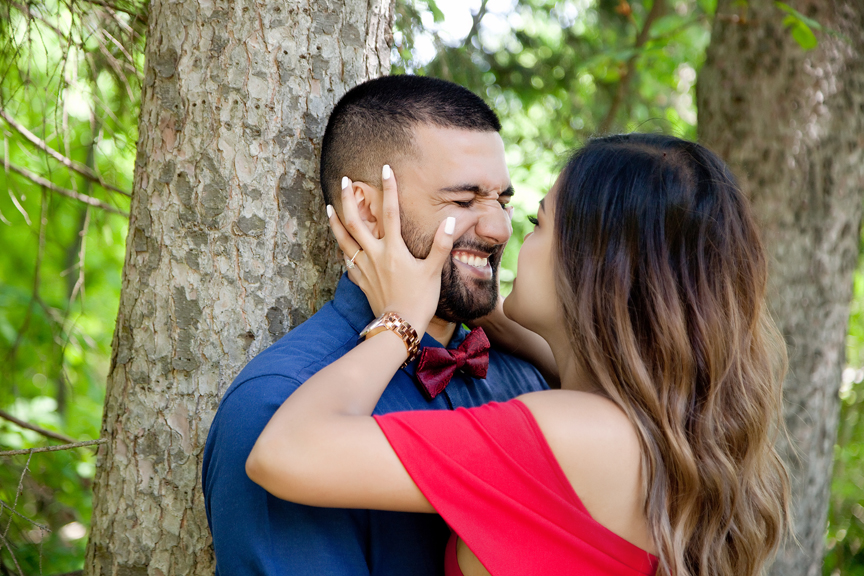squishy face engagement shoot