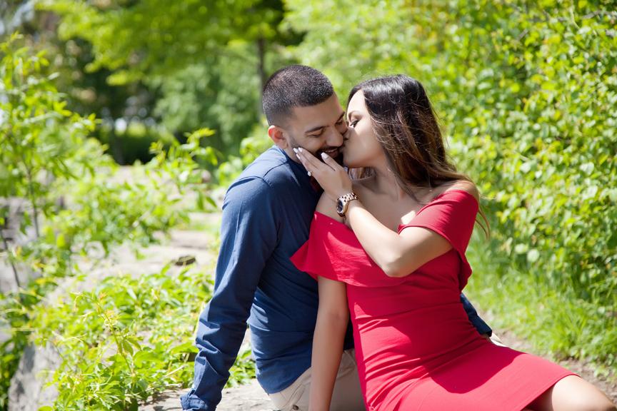 beautiful engagement shoot at Adamson Estate