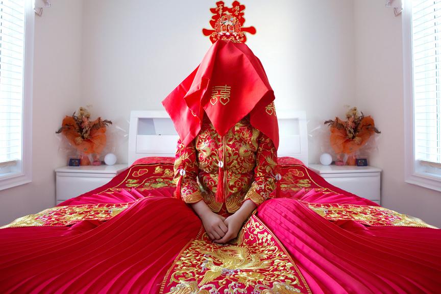 chinese bride prep ready