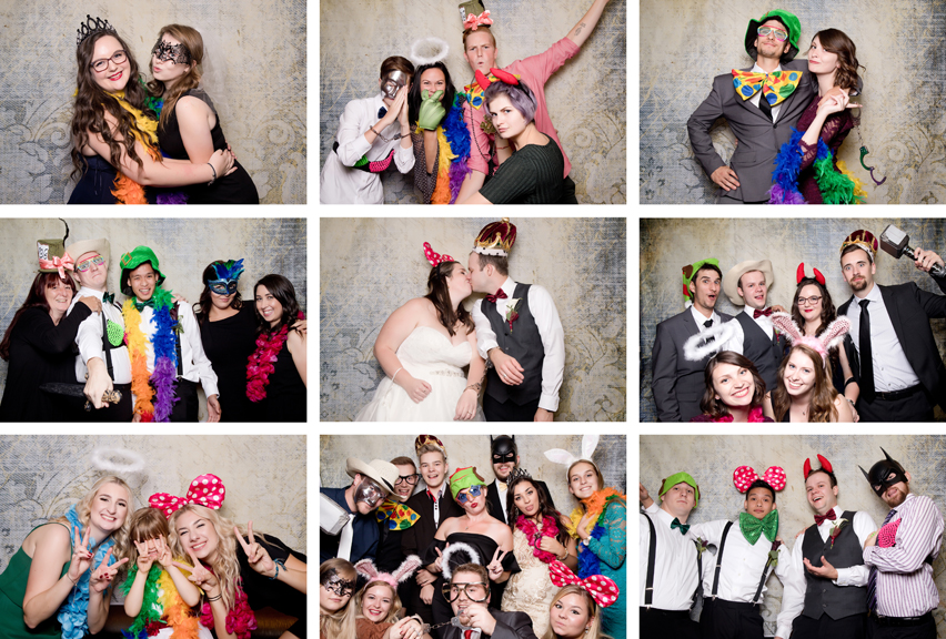 Photo booth fun at Ajax Convention Centre