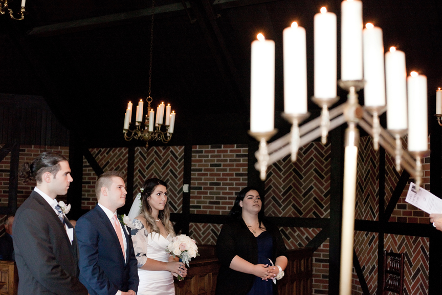 candle wedding ceremony at Old Mill Toronto