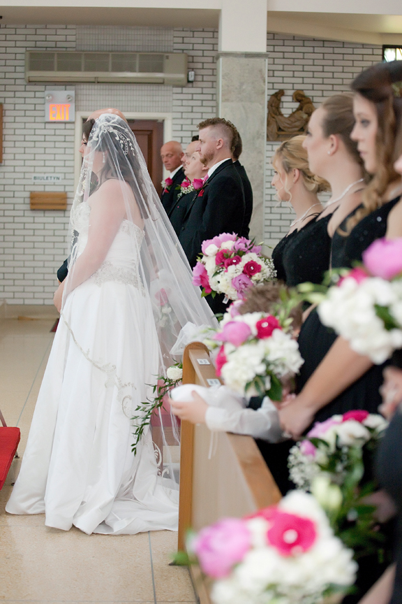 wedding ceremony at St Hedwig Parish