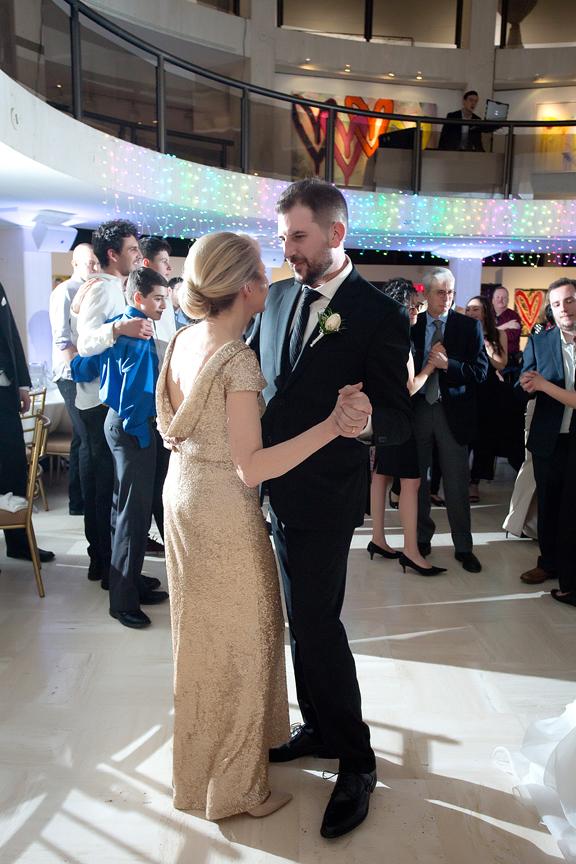 Columbus Centre wedding reception mother son dance