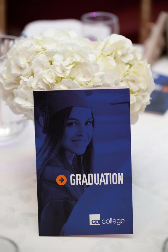 decor CDI Graduation Ceremony