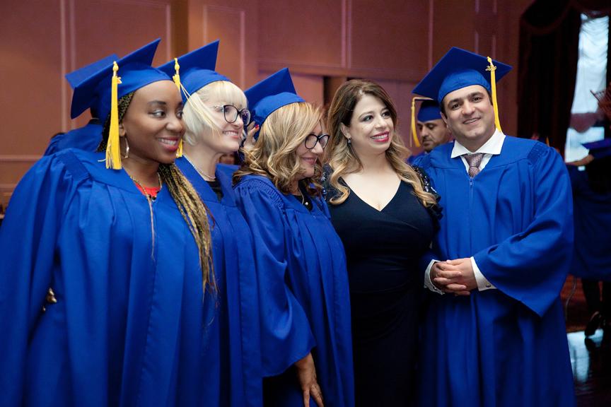 graduates CDI Graduation Ceremony