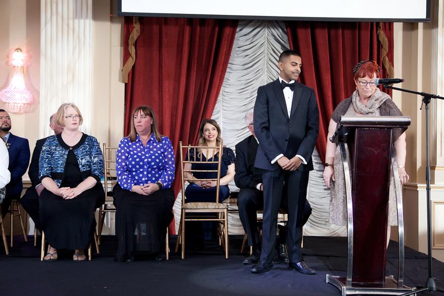presenter CDI Graduation Ceremony Corporate Event Photography