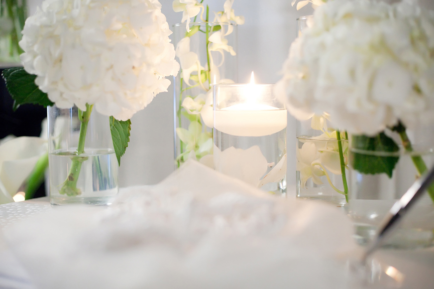 decor wedding ceremony at Canvas Event Space