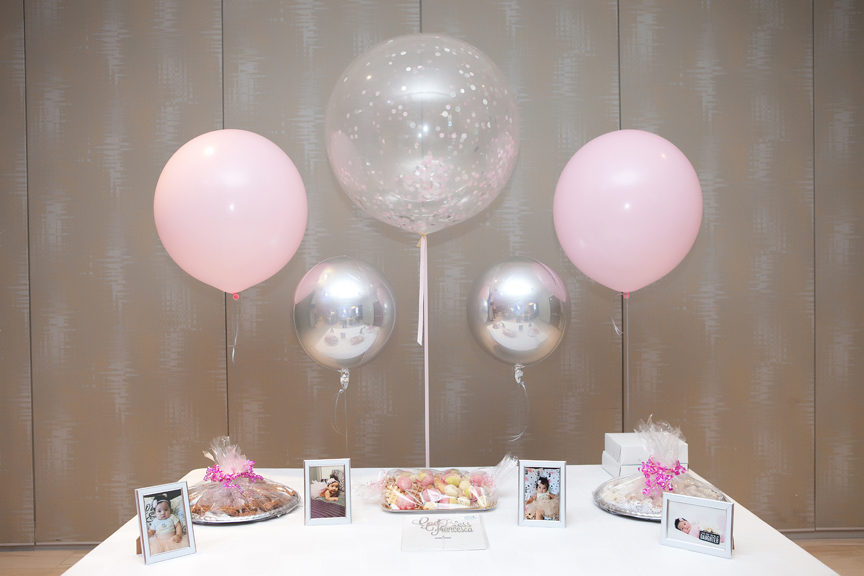 Baptism party at Universal EventSpace decor