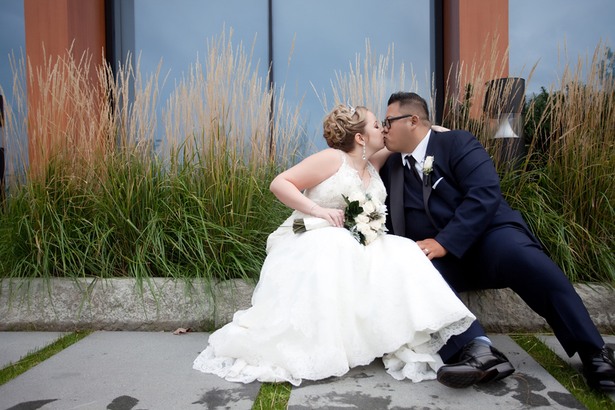 bride and groom wedding portrait at Universal EventSpace