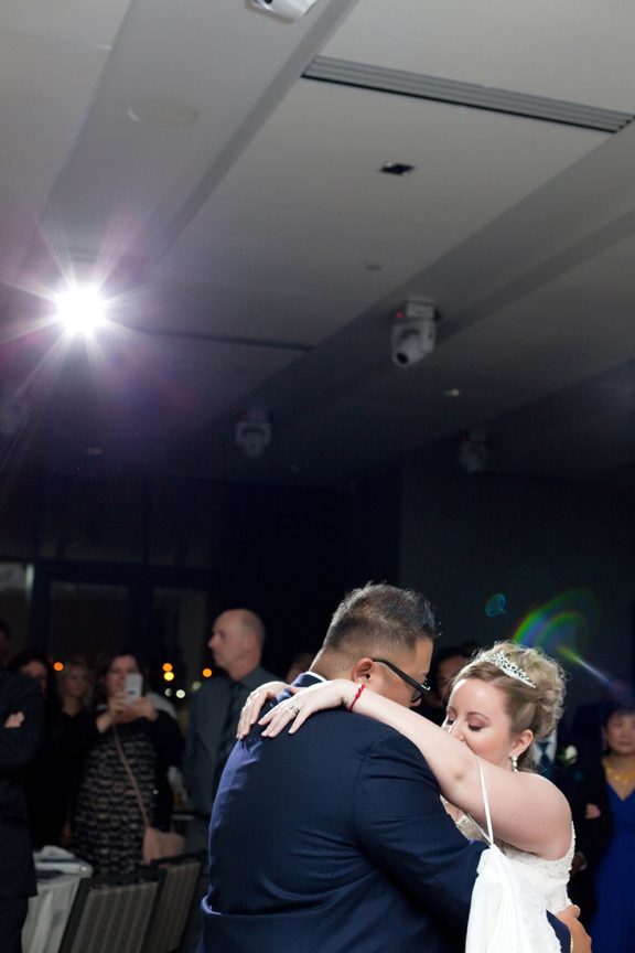 first dance wedding reception at Universal EventSpace