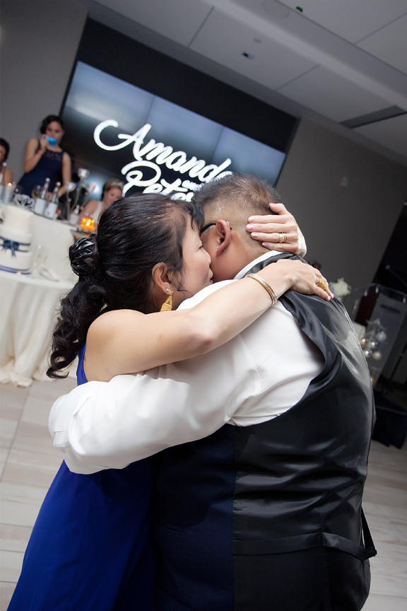 mother son dance wedding reception at Universal EventSpace