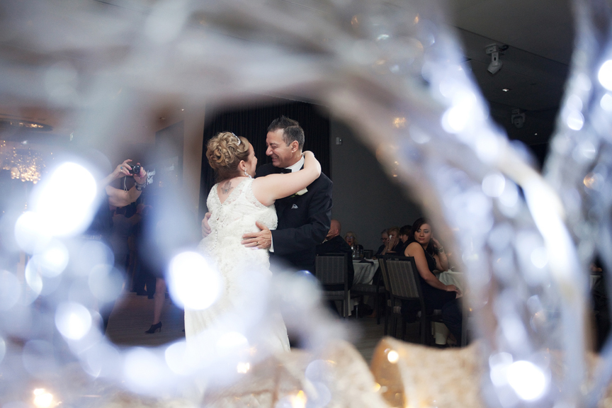 father daughter dance wedding reception at Universal EventSpace