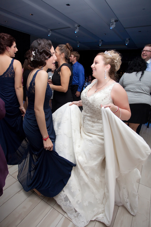dance party wedding reception at Universal EventSpace