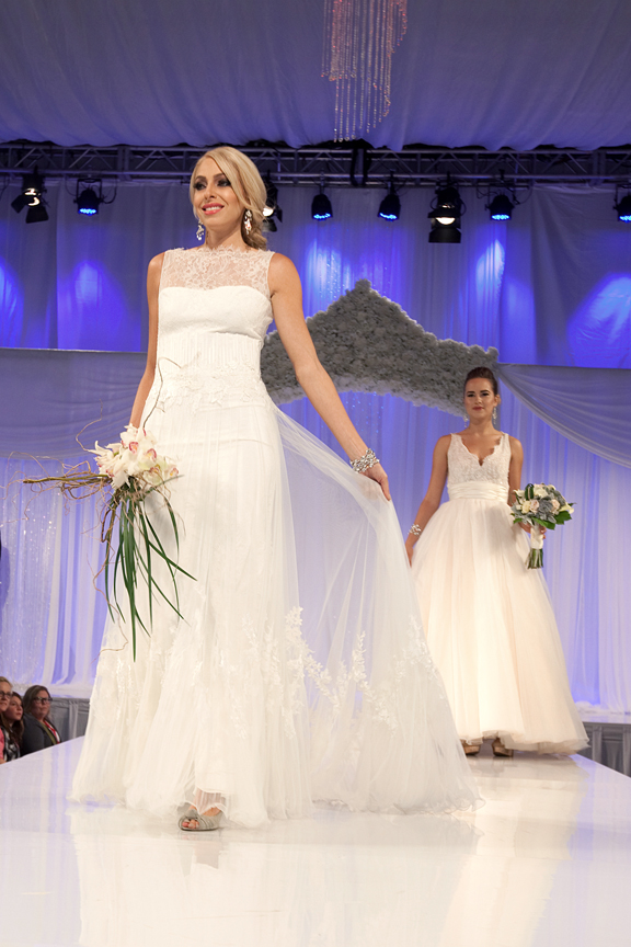 fashion show runway Canada's Bridal Show Corporate Event Photography