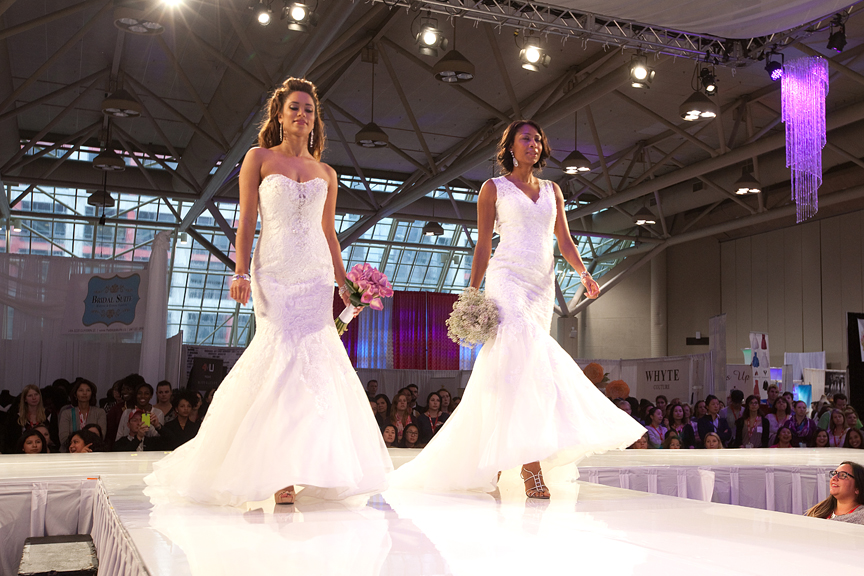 fashion show runway Photography Canada's Bridal Show Corporate Event Photography