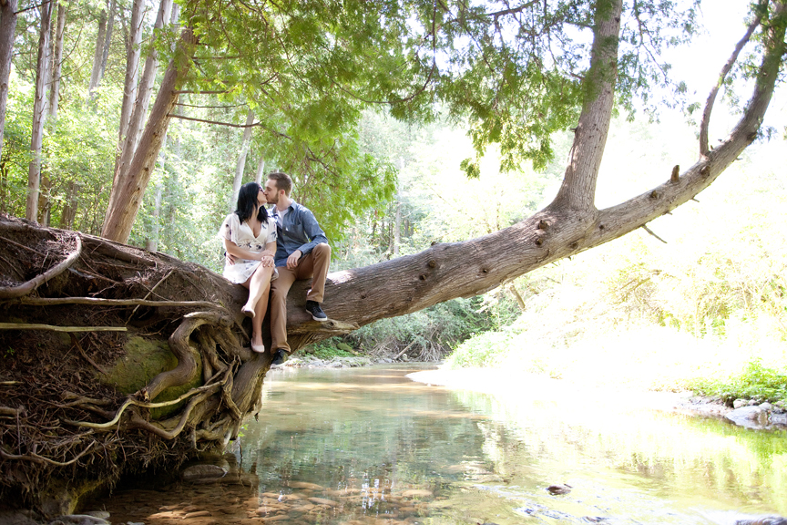lovely couple engagement shoot at Cullen Central Park