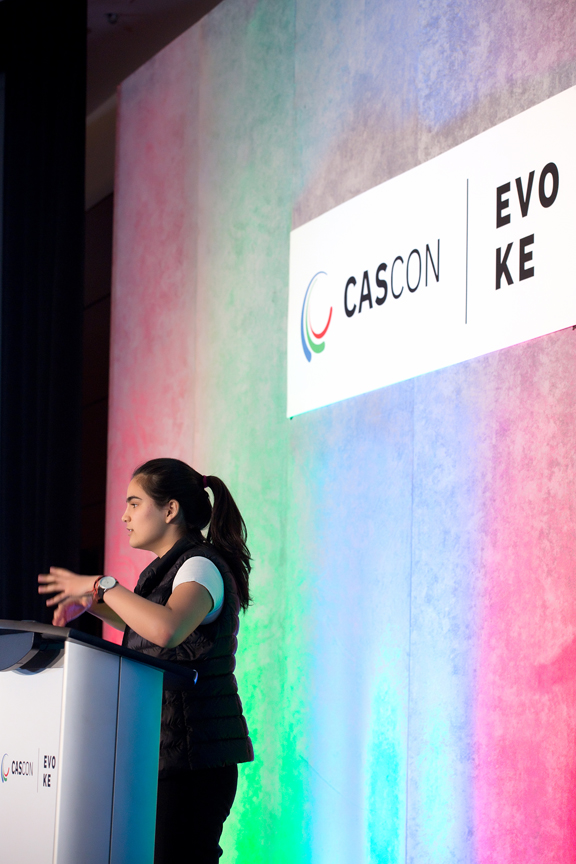 speaker Cascon x Evoke Conference 2019