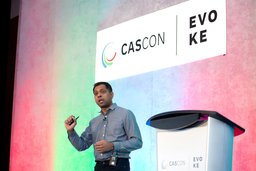 presenter Cascon x Evoke Conference 2019 Corporate Event Photography