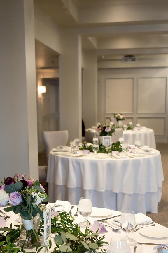 room decor wedding reception at Cambridge Mill